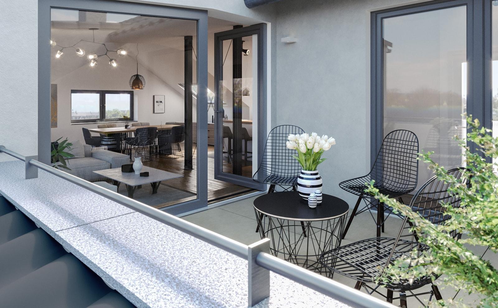 Immobilie Haeckerstraße 12: Wohnung im Dachgeschoss