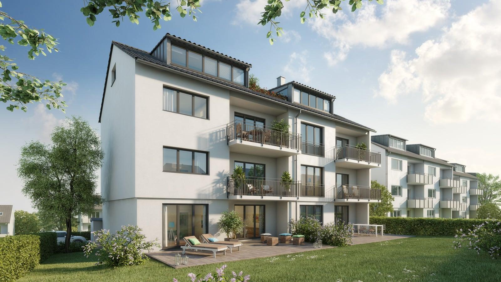 Immobilie Haeckerstraße 12: Gartenansicht