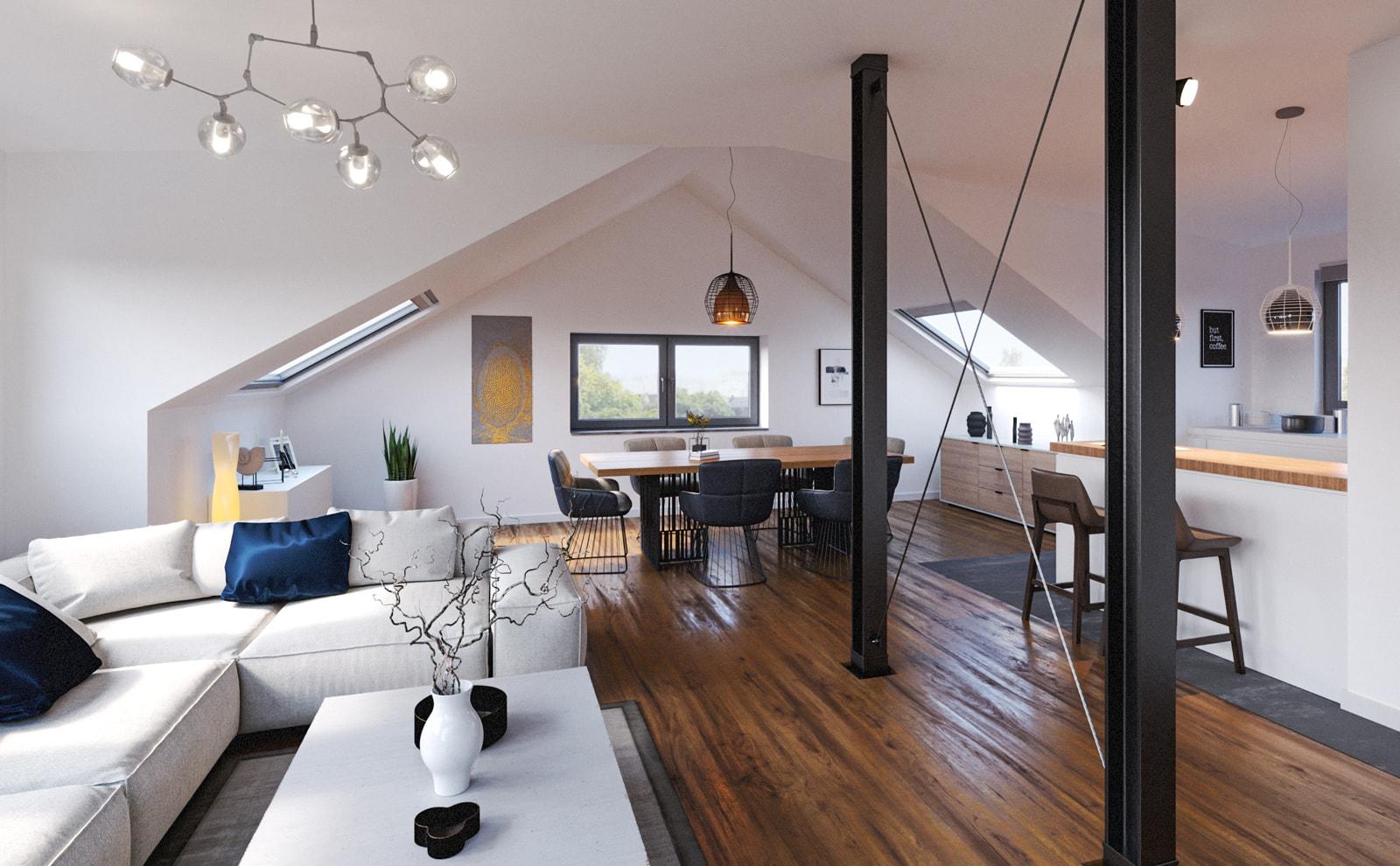 Immobilie Haeckerstraße 12: Interior Wohnung
